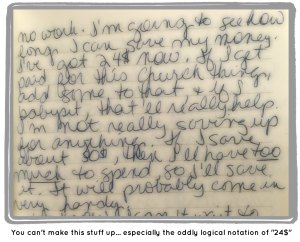 Journal Entry from 1987