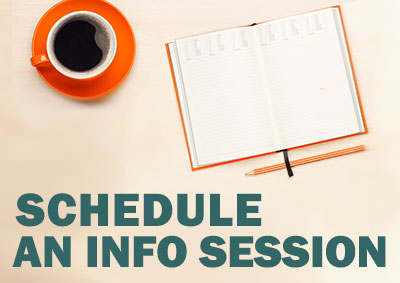 Schedule An Info Session